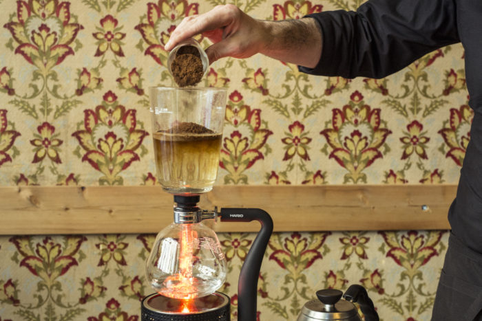 BREWING course at Giuliano Coffee School! (9th of July 2019